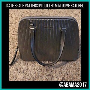 Kate Spade ♠ Patterson Quilt Mini Dome Satchel